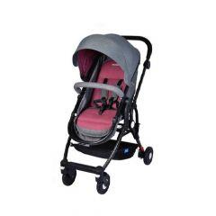 MamaLove Baby Stroller - Gray/Red-67