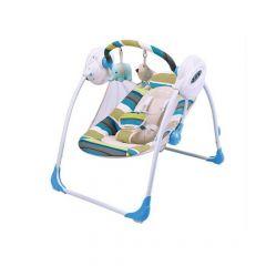MamaLove Charging Swing Chair – Blue-G521C