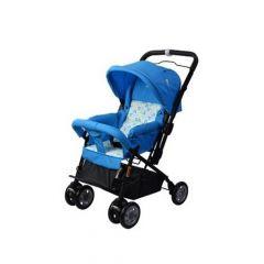 MamaLove Baby Stroller – Blue-KH18