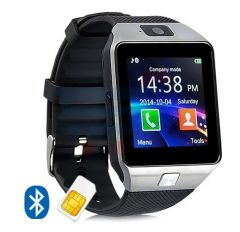 Smart Watch with SIM Slot, Camera & Bluetooth